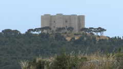 Italy Puglia Norman castle 3 - stock footage