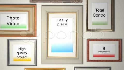After Effects Project - Pond5 Photo Frames 3981102