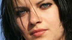 Beautiful face Stock Footage