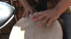 Hands On African Drums 3 of 3 Stock Footage