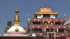 Nepal: Stupa - stock footage