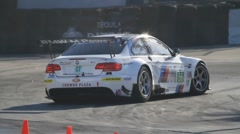 2011 LONG BEACH GRAND PRIX - LBGP ALMS TURN 11 CLIP 1 1080P 24F Stock Footage