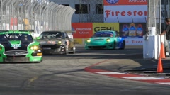 2011 LONG BEACH GRAND PRIX - LBGP ALMS TURN 9 CLIP 5 1080P 24F - stock footage