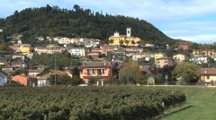 Italy Veneto Cavaron Veronese town Stock Footage