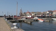 Stock Video Footage of Quay of Urk