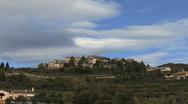 Italy Veneto Valpolicella area with cloud Stock Footage