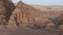 Monastry, Al Deir Stock Footage