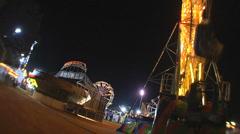 Carnival Night 1 Stock Footage
