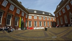 The Amsterdam Museum Netherlands Full HD 1080p Stock Footage