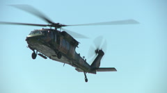 Blackhawk Landing Stock Footage
