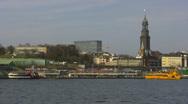 Hamburg harbor Stock Footage