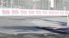 2011 LONG BEACH GRAND PRIX - LBGP ALMS TURN 1 8 Stock Footage