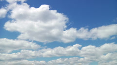 Clouds Timelapse 01 Stock Footage