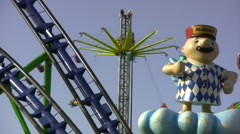 Fair in germany Stock Footage