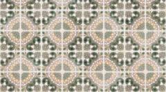Seamless tile pattern Stock Footage