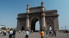Gate of India P2 Stock Footage