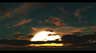 Clouds Passing Overhead, Time Lapse 2 Stock Footage
