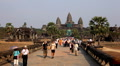 Angkor Wat Temple, Cambodia, tower, tomb, shiva, stone, tropical,  destinations Footage