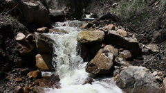Maple Canyon Stream HD-P 0535 Stock Footage
