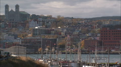 St Johns, Newfoundland Stock Footage