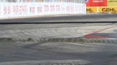 2011 LONG BEACH GRAND PRIX - LBGP INDY TURN 10 7 Stock Footage