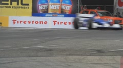 2011 LONG BEACH GRAND PRIX - LBGP INDY TURN 10 6 Stock Footage