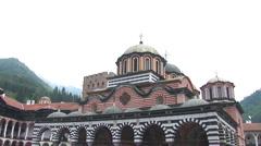 Rila Monastery Stock Footage