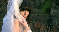 Model Bride Stock Footage