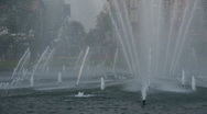Stock Video Footage of Wild Water Fountain