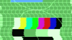Tv noise6 Stock Footage