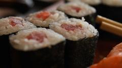 Japanese food - stock footage