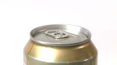 Opening a Beer Can Stock Footage