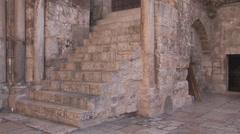Jerusalem Holy Sepulchre Chapel Stock Footage
