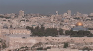 Stock Video Footage of Jerusalem landscape 2