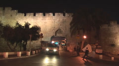 Jerusalem Police Stock Footage