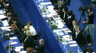 Juries on XXX World Rhythmic Gymnastics Championships. Stock Footage