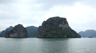 Junk Boat Trip POV in Ha Long Bay (Descending Dragon Bay), Vietnam, Cruise Ship Stock Footage