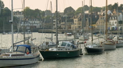 Port Auray 2 Stock Footage