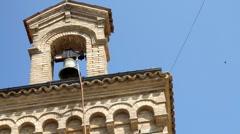 Italy - Chiesa di Santa Maria di Punta Penna Stock Footage