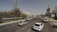Abu Dhabi City Stock Footage