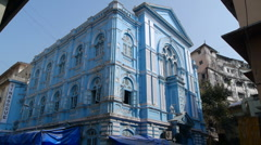 Mumbai Synagogue P1 Stock Footage