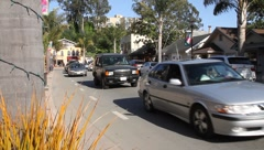 street view capitola ca - stock footage
