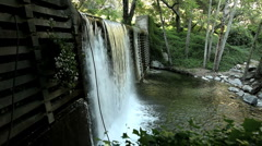 Waterfall SideView 1 Stock Footage