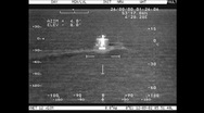 Stock Video Footage of Helicopter Follows Ship On The North Sea