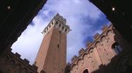 Siena, Tuscany, Italy Stock Footage