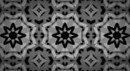 Kaleidoscope Snowflakes/Flowers Red Stock Footage