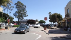 Capitola CA driveby - stock footage