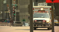 Stock Video Footage of Chicago ambulance Motion JPEG B POND5 INTERLACE!