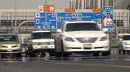 Dubai highway Stock Footage