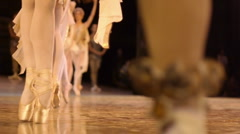 Stock Video Footage Russian classical ballet - stock footage